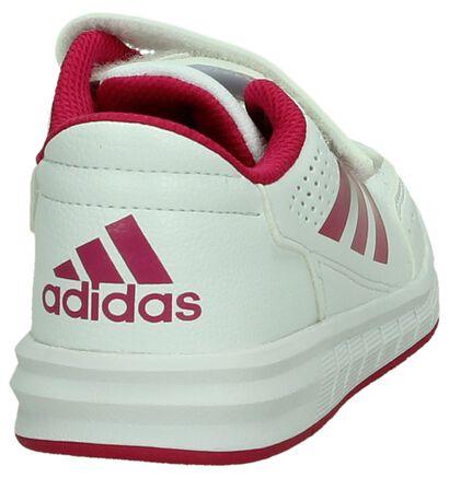 adidas Baskets basses en Blanc en imitation cuir (199562)