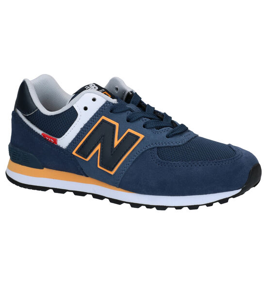 New Balance 574 Blauwe Sneakers