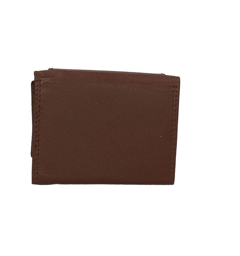 Crinkles Portefeuilles en Brun foncé en cuir (263765)