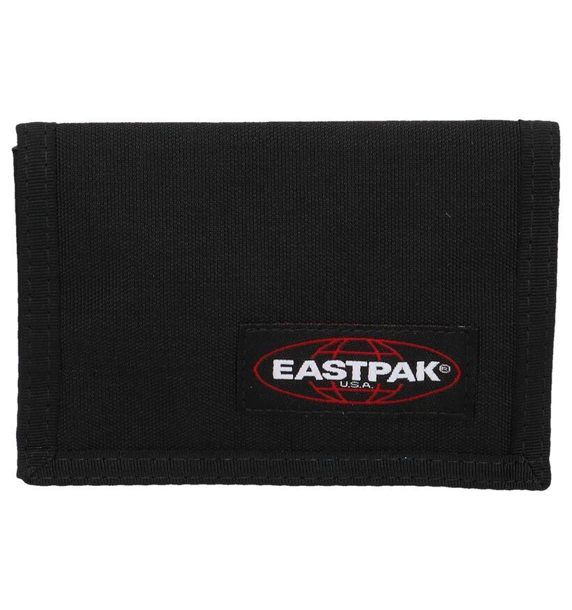 Zwarte Portefeuille Eastpak Crew Single EK371 in stof (253562)