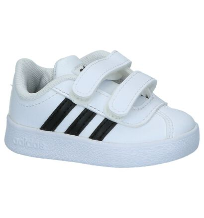 Witte Sneakertjes adidas VL Court 2.0, Wit, pdp