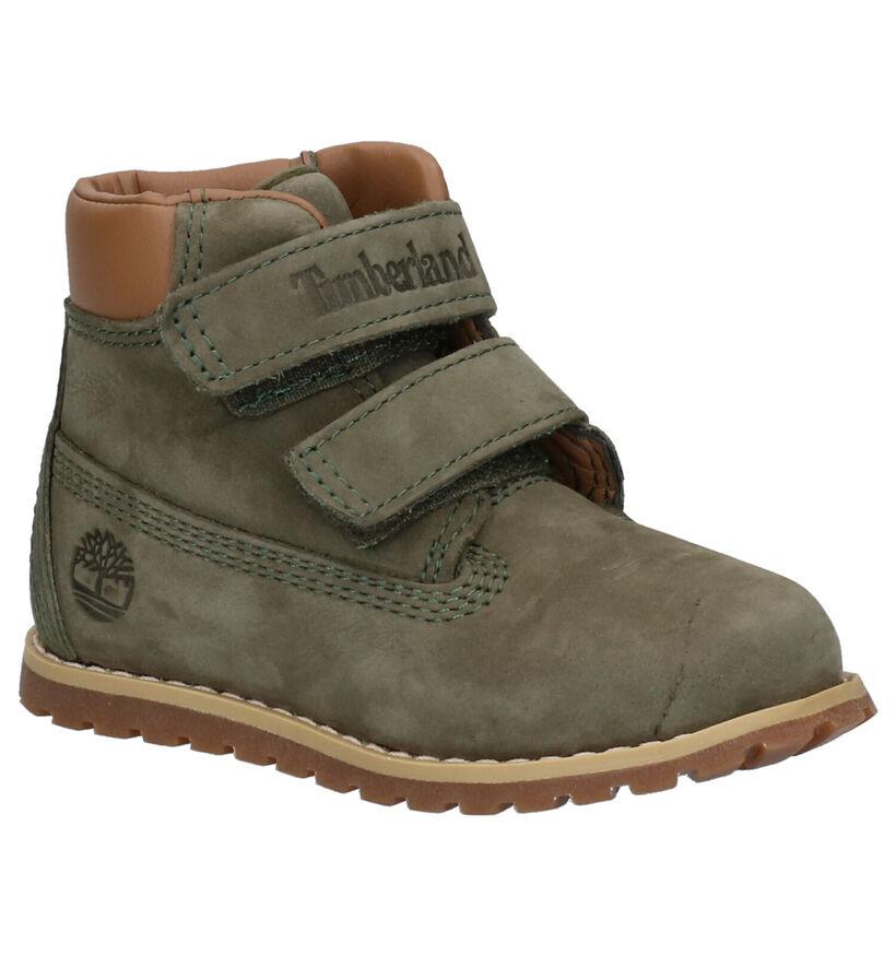 Pokey Pine Chaussures hautes en Brun foncé en daim (254748)
