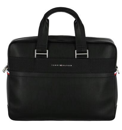 Tommy Hilfiger Business Zwarte Laptoptas in imitatieleer (252351)