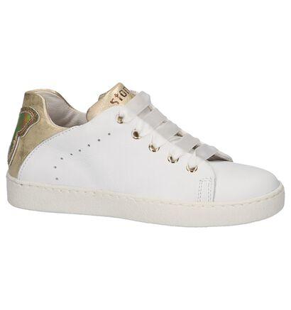 STONES and BONES Chaussures basses en Blanc en cuir (211528)