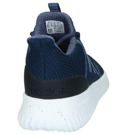 Blauwe Slip-on Sneakers adidas Cloudfoam Ultimate in stof (237217)