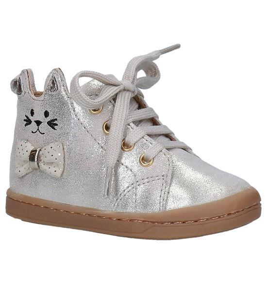 Shoo Pom Kikki Gouden Hoge Schoenen
