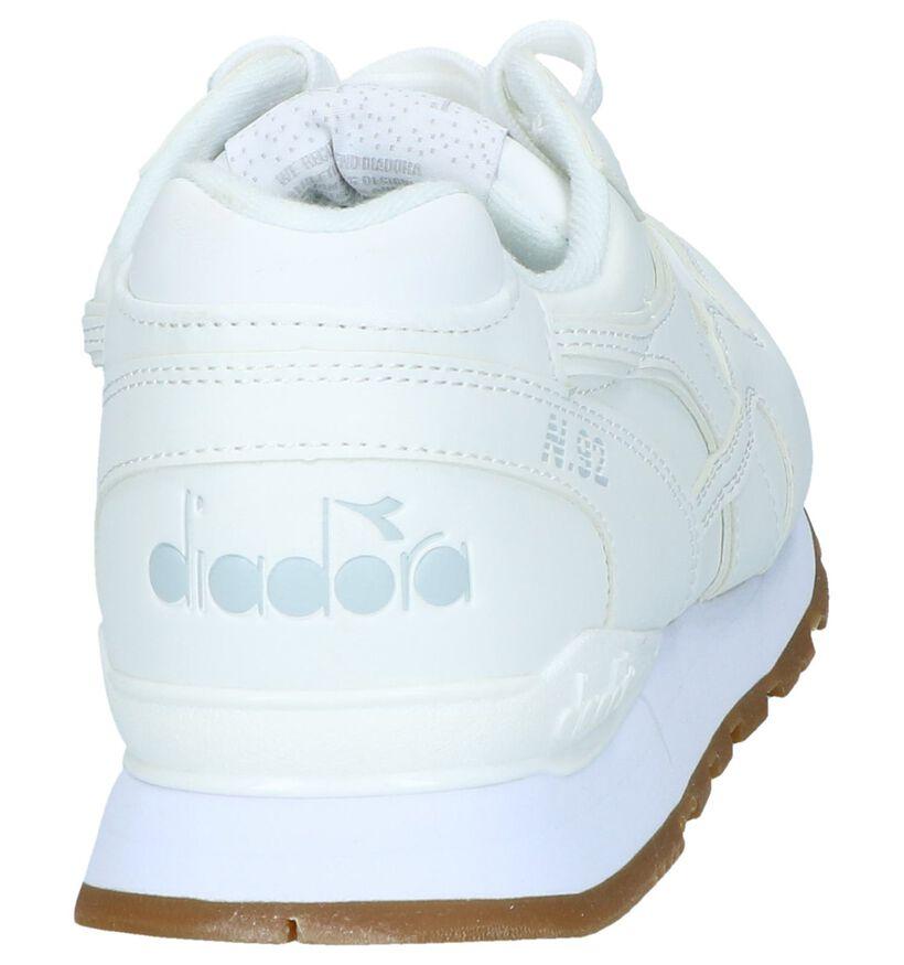 Diadora Kaki Sneakers in stof (267974)