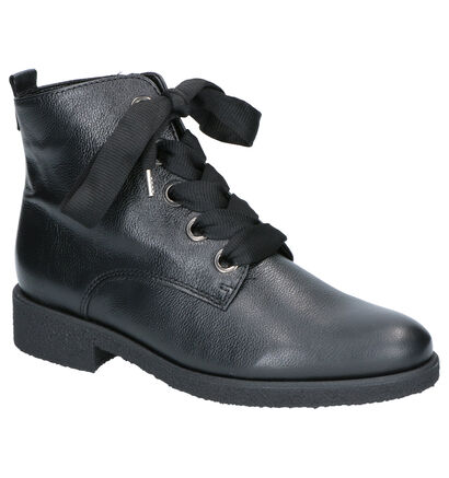 Gabor Zwarte Boots in leer (260229)