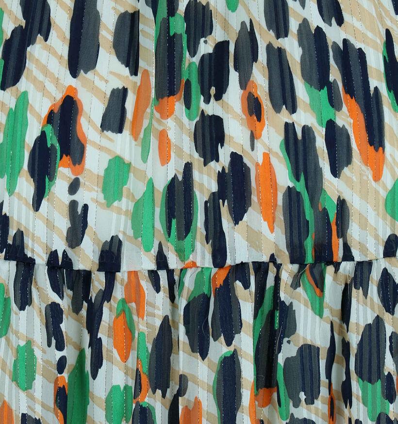 Kilky Robe longues en Vert/Orange (279027)