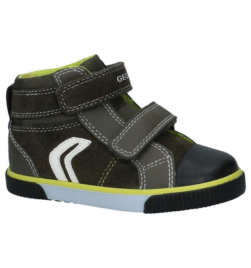 Geox Chaussures pour bébé  en Gris foncé en daim (223174)