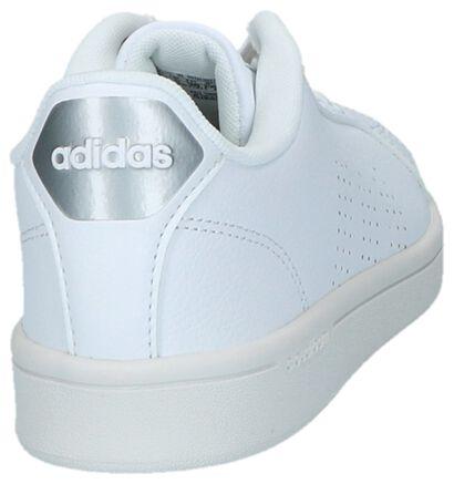 Witte Lage Sportieve Sneakers adidas CF Advantage Clean, Wit, pdp