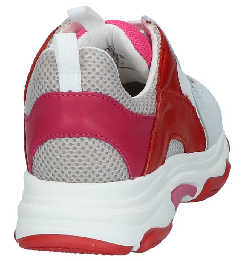 Multicolor Lage Sneakers Kanjers in stof (236261)