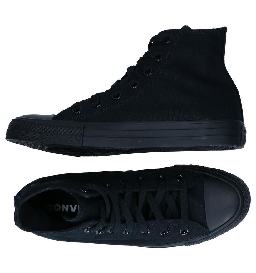 Converse CT AS Zwarte Hoge Sneakers in stof (287137)