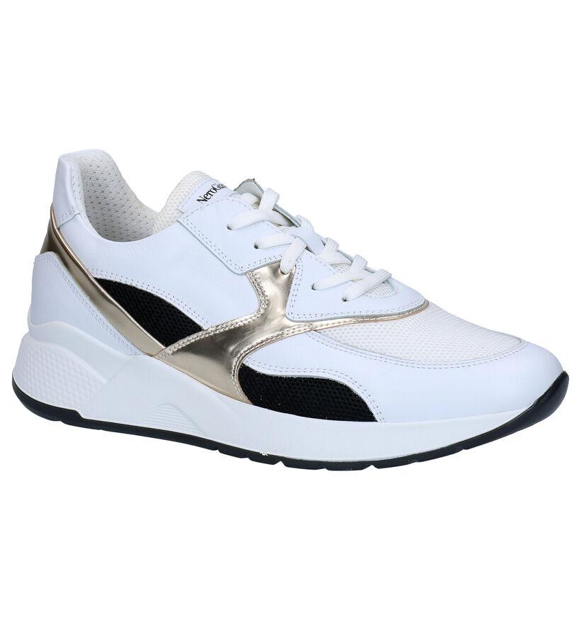 NeroGiardini Witte Sneakers in leer (282476)