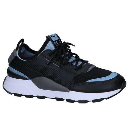 Zwarte Sneakers Puma Running System in kunstleer (252623)