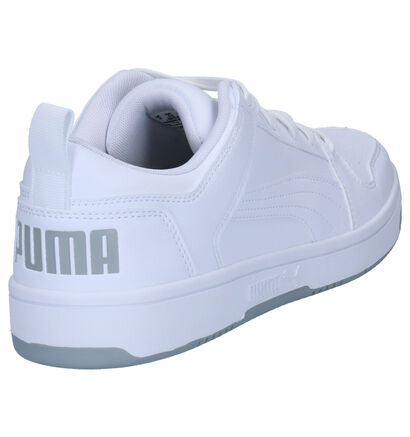 Puma Baskets basses en Blanc en imitation cuir (252598)