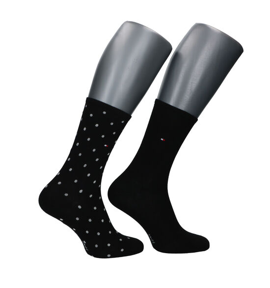 Tommy Hilfiger Zwarte Sokken