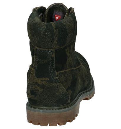Kaki Boots met Veter Timberland 6 Inch Premium WP in nubuck (222510)