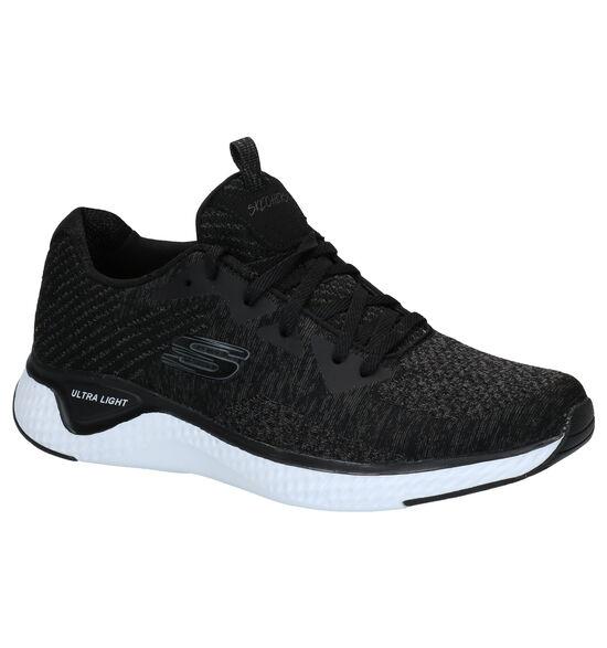 Skechers Solar Fuse Zwarte Sneakers