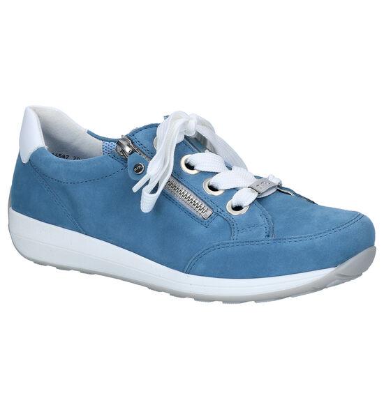 Ara Osaka Chaussures à lacets en Bleu