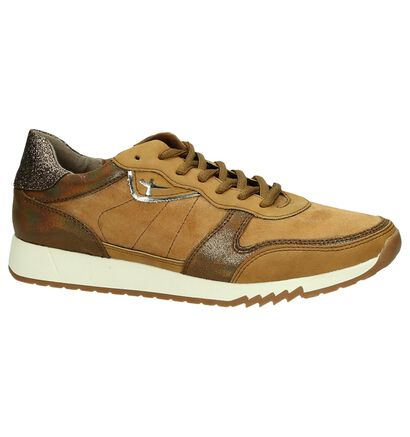 Tamaris Cognac Sneakers in kunstleer (184161)
