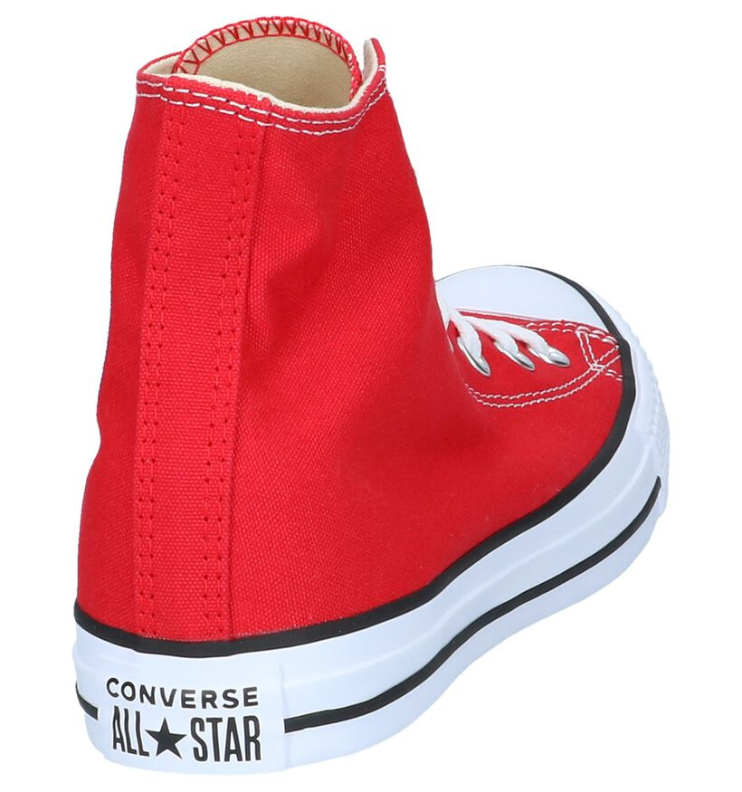 Converse Chuck Taylor All Star Baskets hautes en Noir en textile (266499)