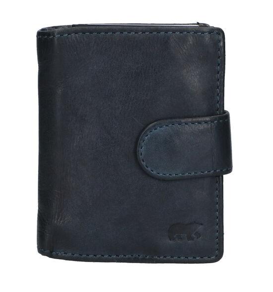 Bear Design Porte-cartes en Bleu foncé