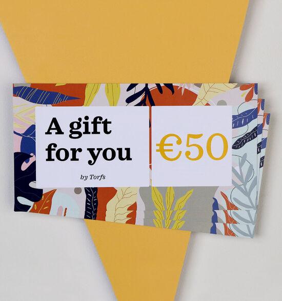Carte cadeau de 50 euros