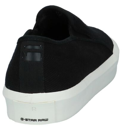 Casual Instappers Zwart G-Star Strett Slip-On in stof (211653)