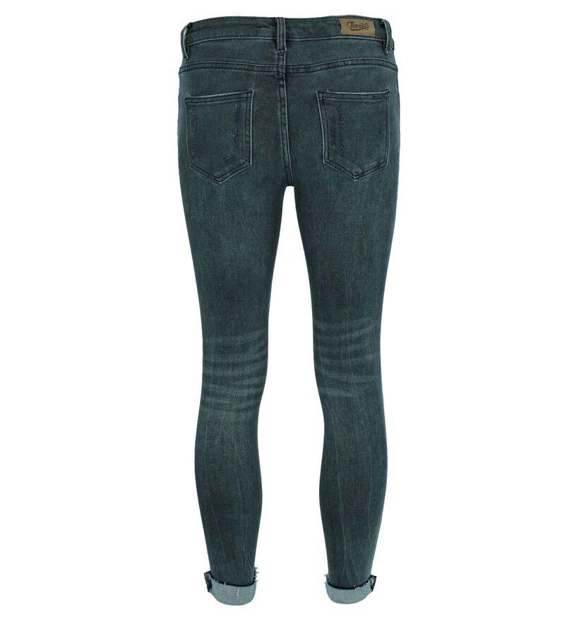 Toxik Skinny Fit Jeans en Gris (270374)
