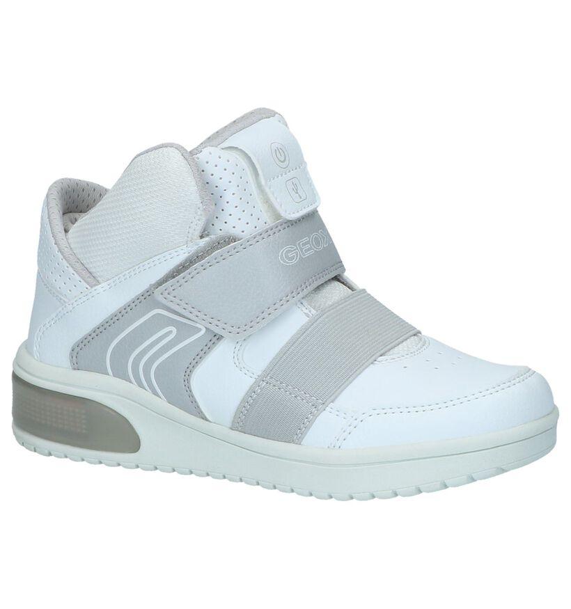 Geox Baskets basses en Blanc en textile (223185)