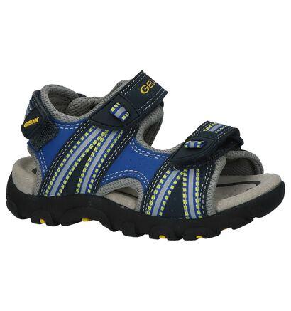 Zwarte Geox Sportieve Sandalen in stof (213173)