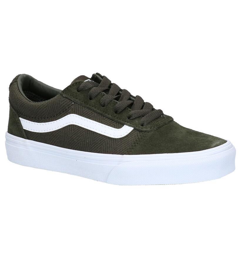 Vans Ward Sneakers Kaki in nubuck (264173)