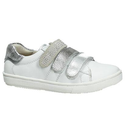 Apples & Pears Witte Sneakers Velcro, Wit, pdp