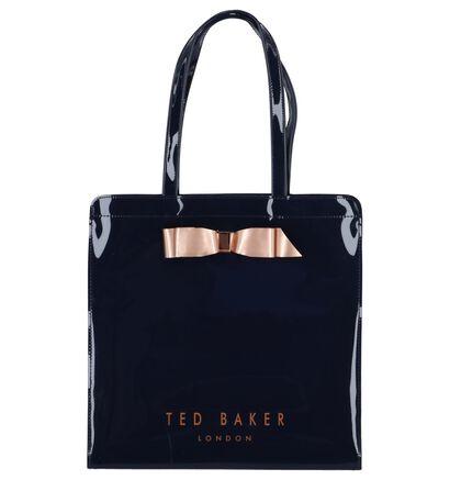 Donkerblauwe Laké Shopper Tas Ted Baker Almacon in kunststof (236355)