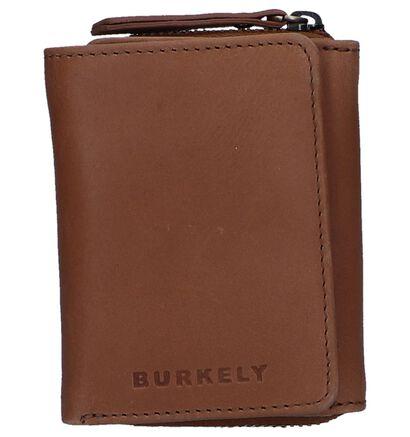 Burkely Porte-monnaies à rabat en Rouge foncé en cuir (249373)
