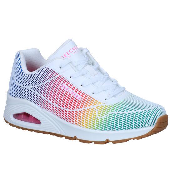 Skechers Uno Meerkleurige Sneakers