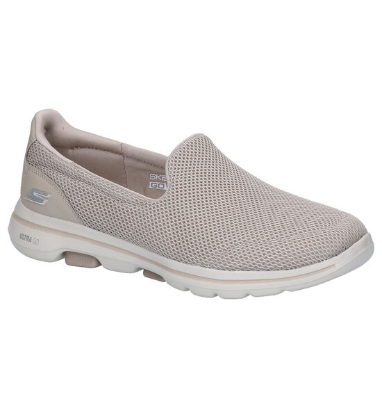 Skechers Go Walk Taupe Instappers