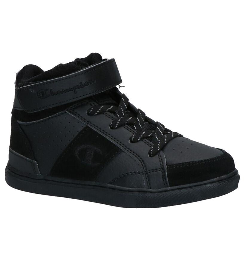 Champion Baskets hautes en Noir en simili cuir (264626)