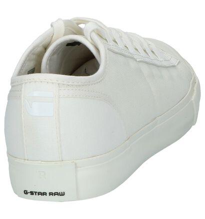 Ecru Lage Sportieve Sneakers G-Star Scuba II in stof (211650)