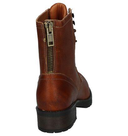 Bullboxer Bottines en Cognac en cuir (232197)