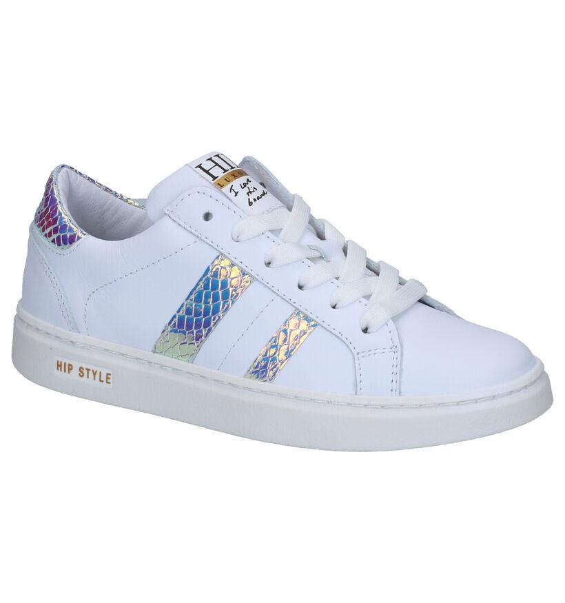 Hip Sneakers Wit in leer (266661)
