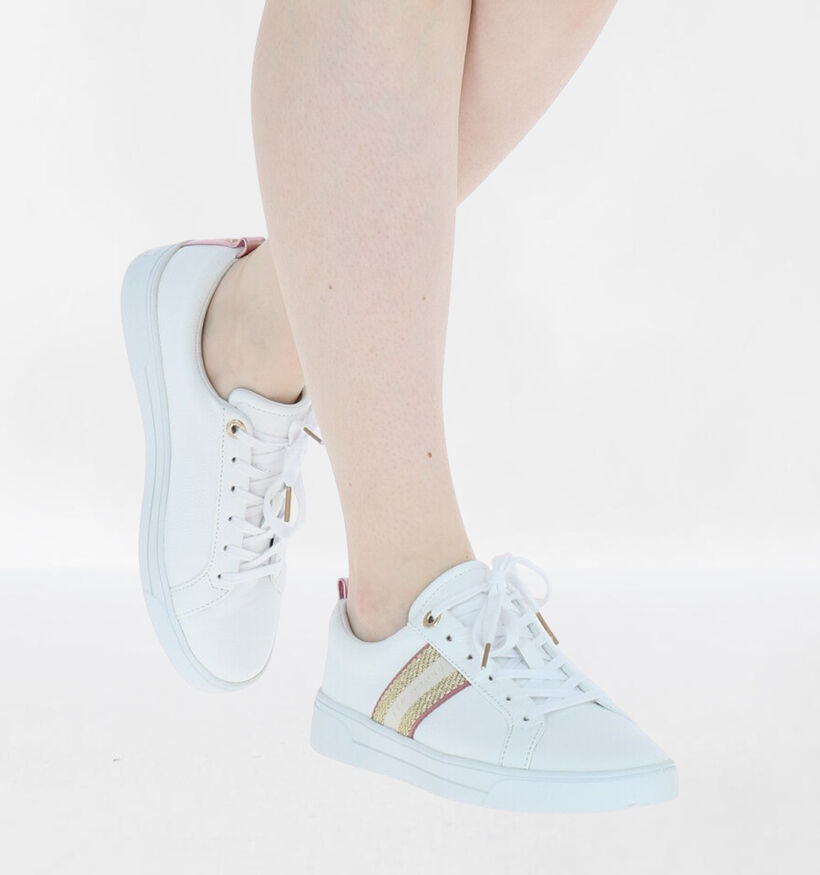 Ted Baker Baily Witte Sneakers in leer (276070)