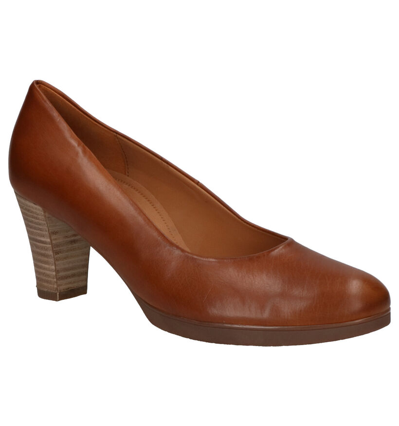 Gabor Cognac Pumps in leer (260202)