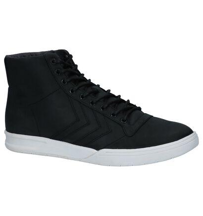 Zwarte Hoge Sneakers Hummel in leer (225870)