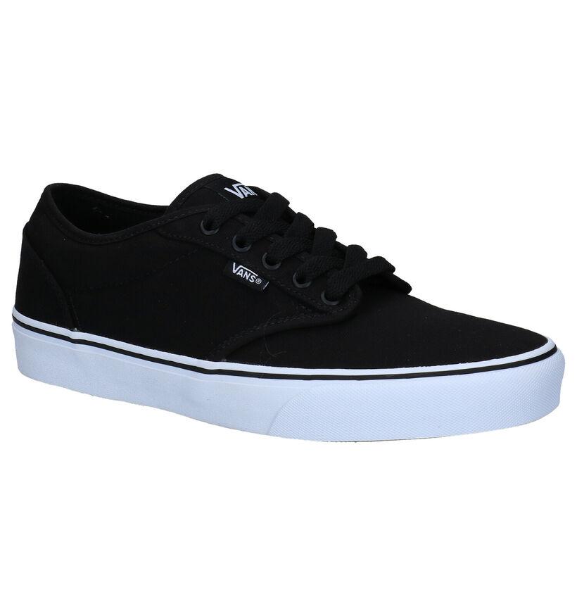 Vans Atwood Zwarte Skatesneakers in stof (277681)