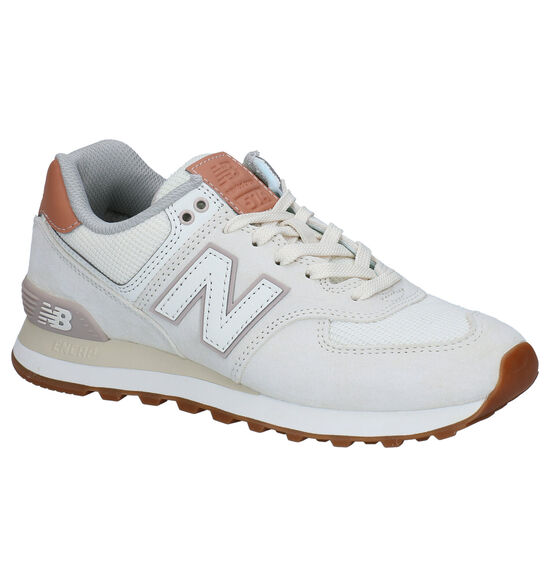 New Balance WL574 Ecru Sneakers