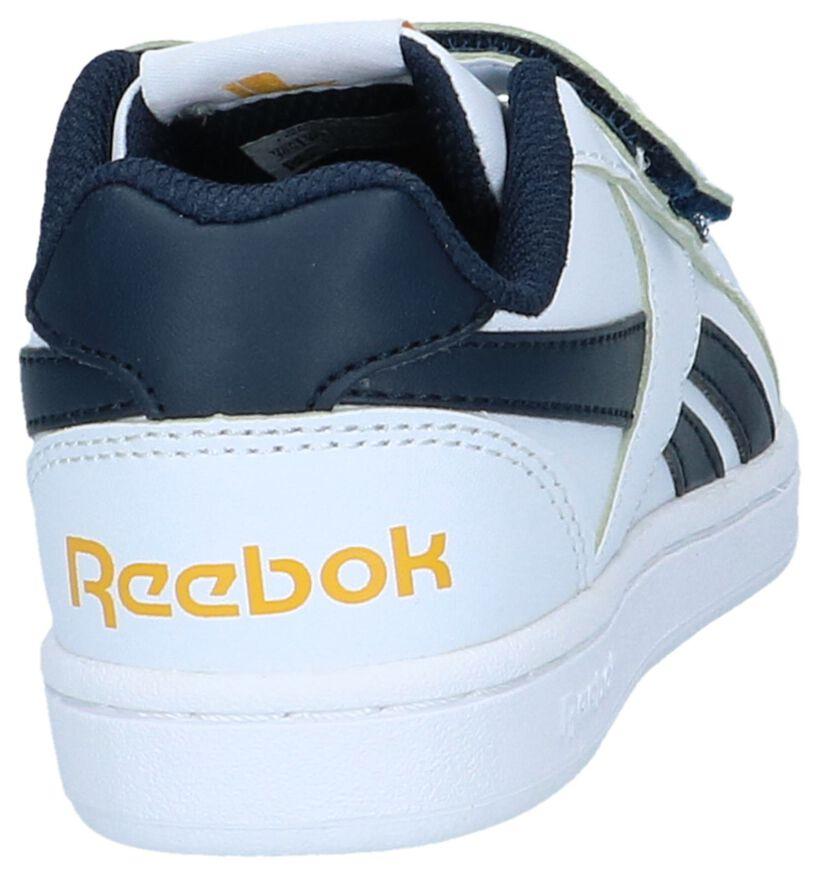 Reebok Royal Prime Witte Velcroschoenen in kunstleer (264636)
