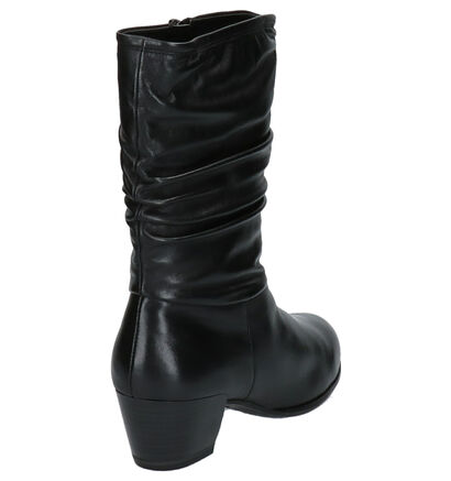 Tamaris Zwarte Laarzen in leer (257062)
