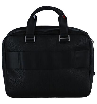 Zwarte Laptoptas Tommy Hilfiger in imitatieleer (236898)